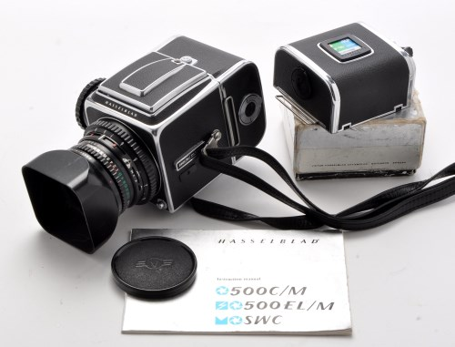 Lot 367-A Hasselblad 500 C/M medium-format SLR camera,...