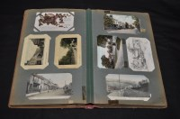 Lot 9 - Durham interests, postcards to include; Axwell,...