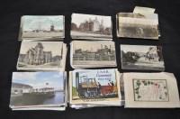 Lot 41 - North Eastern interest postcards, mostly...