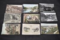 Lot 45 - Knaresborough interest postcards,...