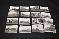 Lot 47 - Railway interest photographs, photographs of...