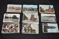 Lot 48 - North East interest postcards, to include:...