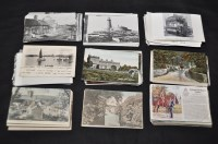 Lot 49 - Northumberland interest postcards,...