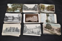 Lot 52 - Northumberland interest postcards, to include:...