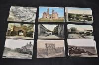 Lot 53 - Northumberland Coast interest postcards, to...