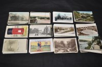 Lot 54 - Nothumberland interest postcards, to include:...