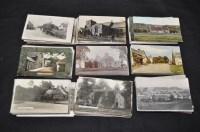 Lot 55 - Northumberland interest postcards,...