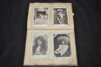 Lot 60 - An early 20th Century album of mainly portrait...