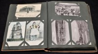 Lot 60A - Apostcard album containing early 20th...