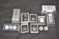Lot 67 - Historic U.S. Silver half dollars in...