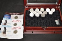 Lot 74 - ''The Complete Morgan and Peace Silver Dollar...