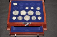 Lot 75 - ''A Century of U.S. Silver Coins'', to include:...