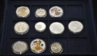 Lot 76 - ''The Official Silver Coin Collection of the...
