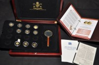Lot 84 - 3 ''The Smallest Gold Coins of the World...