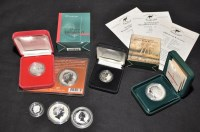 Lot 86 - Australian interest silver coins, to include...