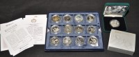 Lot 89 - ''The Queen's 80th Birthday Silver Coin...