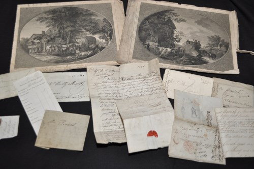 Lot 181-Thomas Bewick interest: a letter from a Mr...