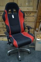Lot 67 - A Pro-Mech executive style office swivel chair,...