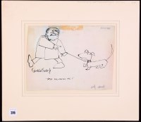 Lot 316-Gerald Scarfe - ''Stop Following Me!'', signed,...
