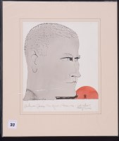 Lot 317-Paul Hogarth - ''Graham Greene/The Quiet American:...