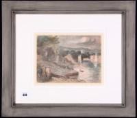 Lot 338 - Edward Ardizzone, RA - ''Bathers by a lake'',...