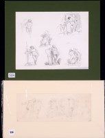 Lot 339 - Edward Ardizzone, RA - nude studies, signed...