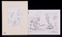 Lot 340 - Edward Ardizzone - ''The dark figure on the...