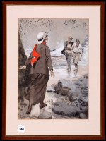 Lot 344 - Leo Bates - an original book illustration -...