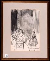 Lot 345 - Dame Laura Knight, RA, RWS - ''Quadro Flamenco'...