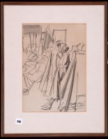 Lot 346 - Dame Laura Knight, RA - ''Back Stage'' - a...