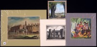 Lot 353 - J*** Meade - ''Kensington Palace'', signed and...