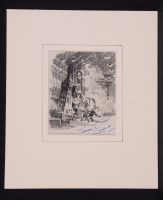 Lot 355 - Terence Cuneo - a view inside a steel factory,...