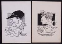 Lot 356 - **** Furnival - cricketing portraits - Harold...