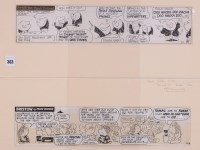 Lot 363 - Frank Dickens - ''Bristow'' - two cartoon...