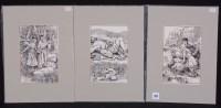 Lot 377 - N*** Buchanan - book illustrations - a...