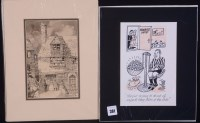 Lot 381 - Kenneth Mahood - ''They're trying to think of...