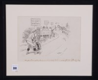 Lot 391 - Gordon Browne - ''The pastime of cycling, as...