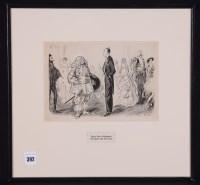 Lot 392 - Lewis Baumer - ''Fancy Dress: Obligatory, The...