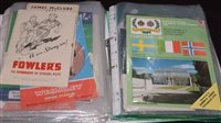 Lot 53 - International football programmes, to include:...
