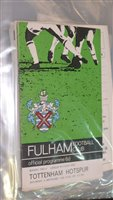 Lot 58 - English League football programmes, to include...