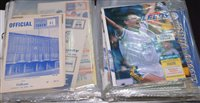 Lot 59 - Leeds United football programmes from 1962 - 1998.