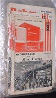 Lot 63 - English League football programmes, 1960's and...