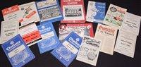 Lot 44 - British football programmes, comprising:...