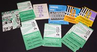 Lot 47 - Inter-Cities Fairs' Cup 1968 - 1969 Newcastle United football programmes, comprising: Feyenoo