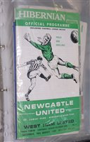 Lot 49 - Newcastle United 1968 - 1969 football...