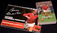 Lot 81 - Bobby Charlton souvenir testimonial programme...
