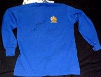 Lot 82 - Manchester United replica 1968 ECF shirt...