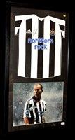 Lot 91A - An Alan Shearer No.9 Newcastle United replica...