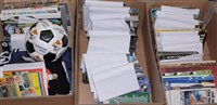 Lot 76 - Three boxes of Newcastle United football...