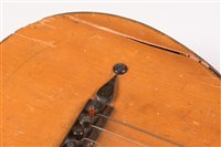 Lot 10-A Louis Panormo English parlour guitar, rosewood...